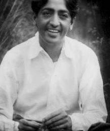 L'incontro con Krishnamurti
