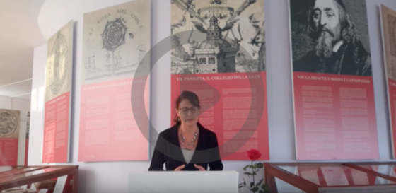 """Presentazione della mostra """"Comenius e la Rosacroce, l'Arte di Insegnare"""""""