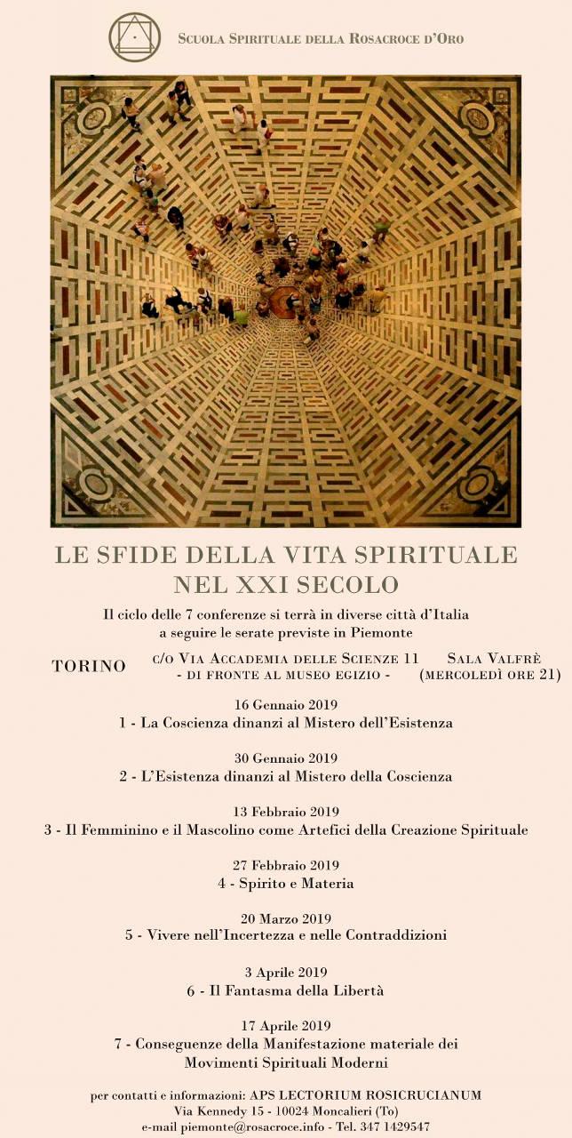 LE SFIDE DELLA VITA SPIRITUALE DEL XXI SECOLO-Conseguenze della manifestazione materiale dei movimenti spirituali moderni