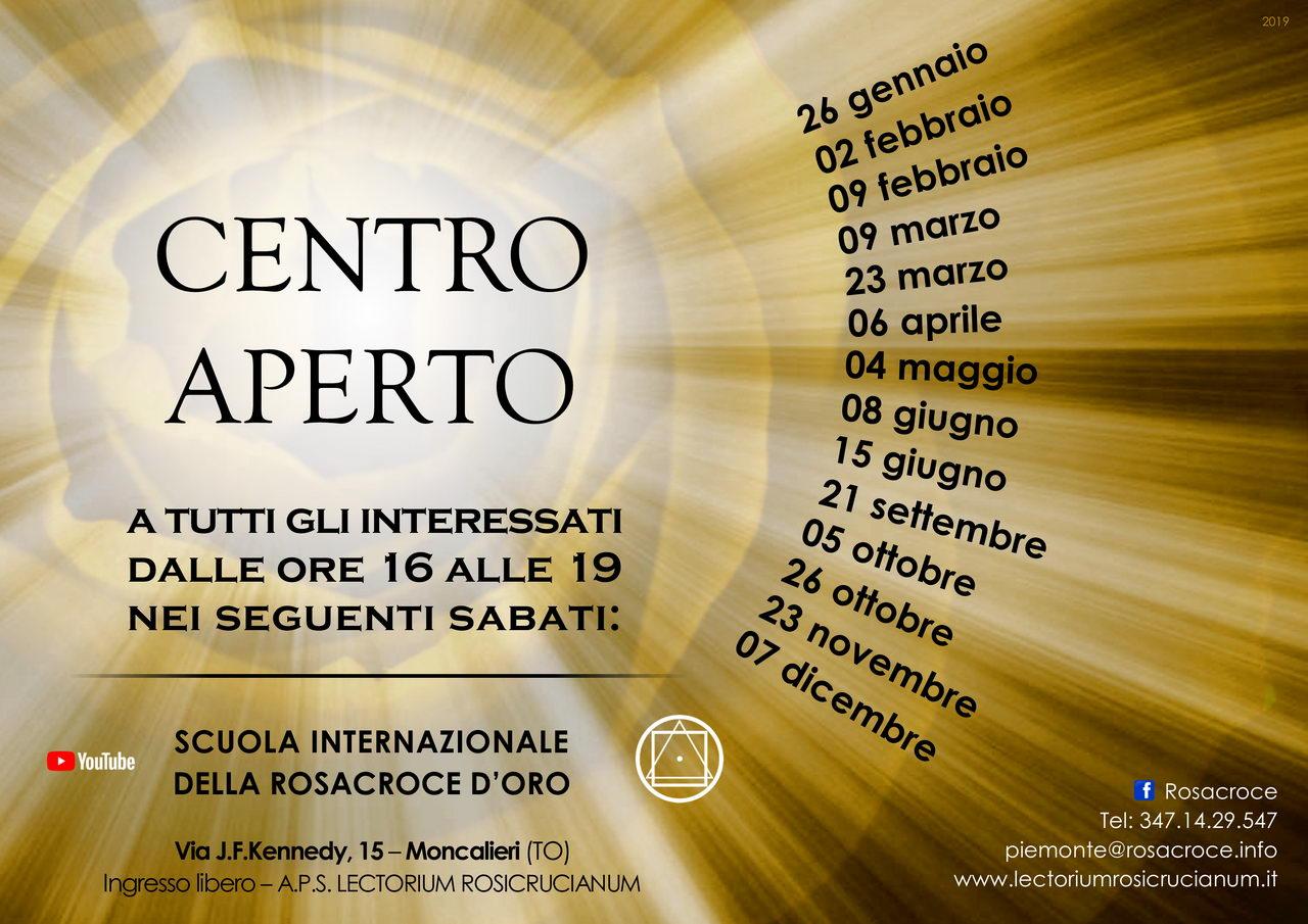 """""""Rosacroce d'Oro - La sede di Moncalieri (TO) dà il benvenuto a tutti gl'interessati"""""""