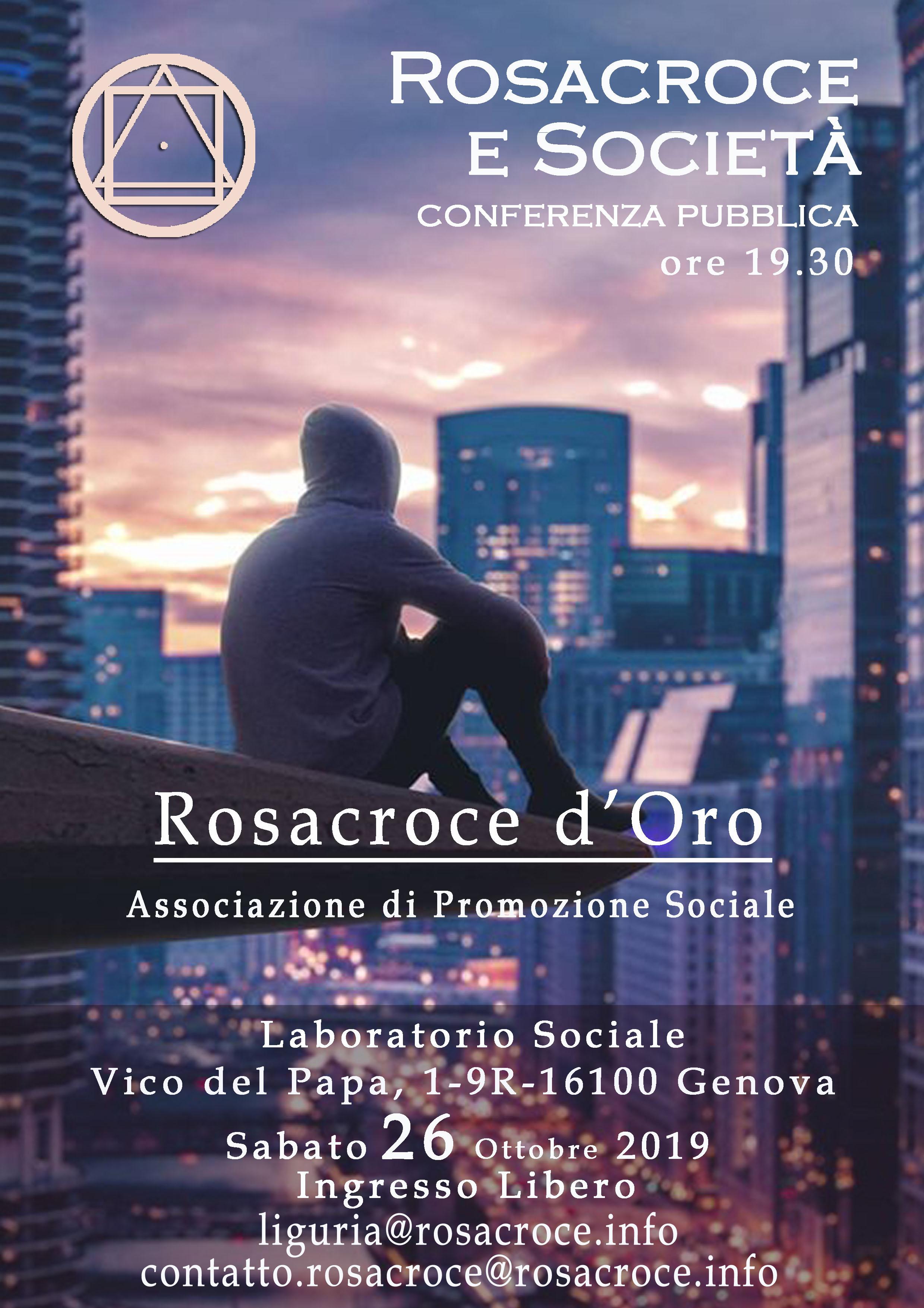 Rosacroce e Società