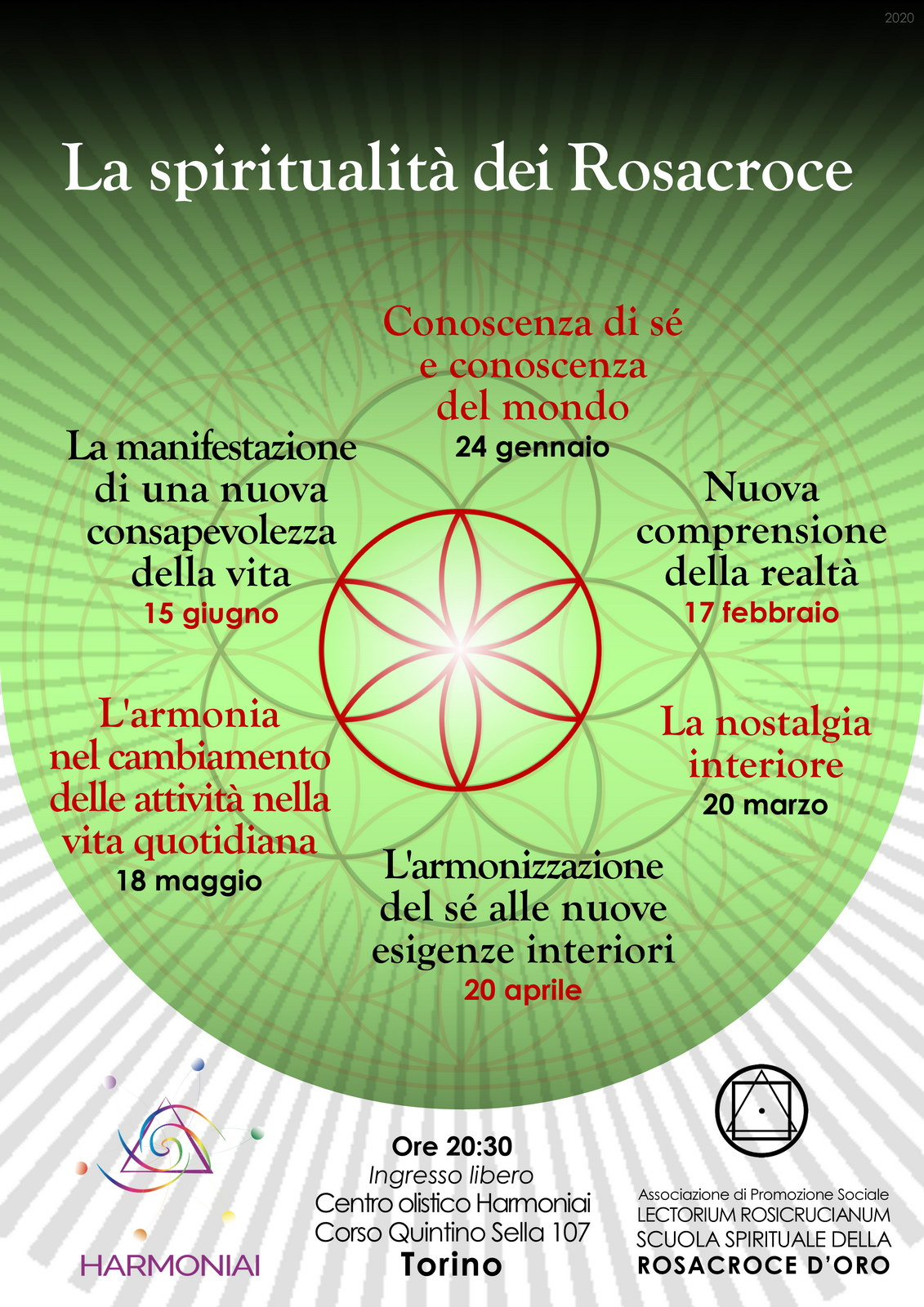 """La spiritualità dei Rosacroce: """"nuova comprensione della realtà""""."""