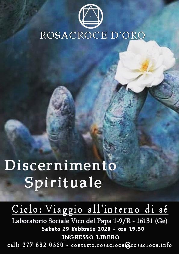 Discernimento Spirituale - ciclo: La conoscenza di sé